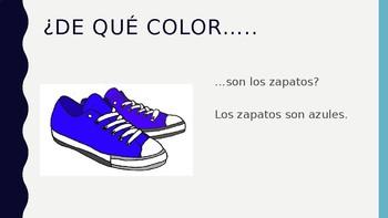 De Que Color Practica PPT