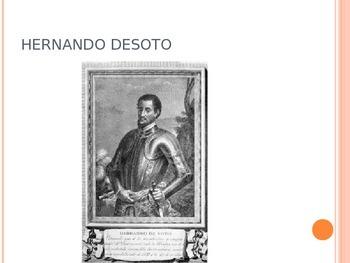 De Soto's Journey through the South