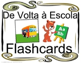 De Volta À Escola FLASHCARDS Portugûes