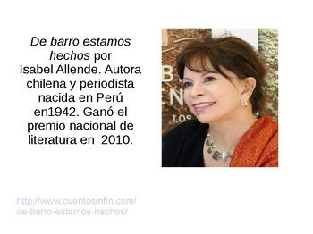 De barro estamos hechos por Isabel Allende
