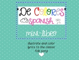 De colores mini-libro