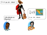¿De dónde eres?   Where are you from?  Spanish