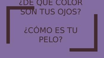 De que color son tus ojos