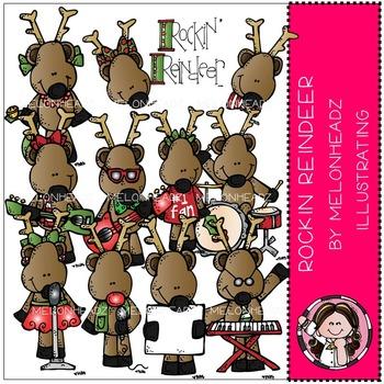 Melonheadz: Rockin Reindeer clip art