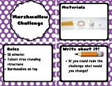 Marshmallow Challenge Card Set