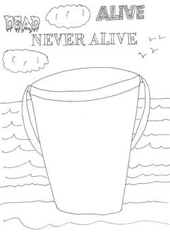 Dead, Alive, Never Lived: Ocean Theme: Beach Bucket Worksh