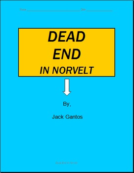 Dead End in Norvelt Comprehensive Novel Study