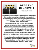 Dead End in Norvelt Vocabulary Bingo