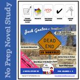 Dead End in Norvelt by Jack Gantos Novel Study
