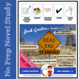 Dead End in Norvelt by Jack Gantos Novel Study