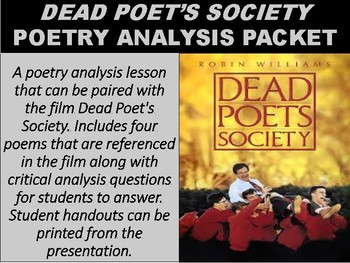 critical response on dead poets society Editors' notes rather than rehash his famously sweeping scores for david lean, maurice jarre gave dead poets society an entirely new musical vocabulary.