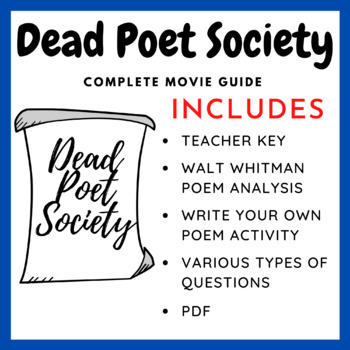 Dead Poets Society - Complete Movie Guide & Activity