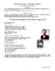 """""""Dead Poets Society"""" Movie Supplement Handout with Worksheets"""