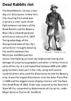 Dead Rabbits riot Handout