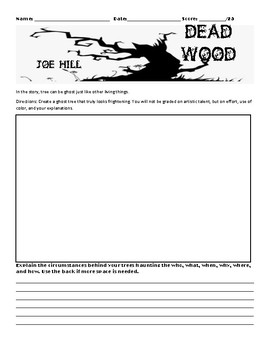 Dead-Wood by Joe Hill Assignment