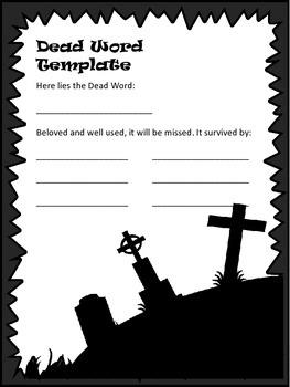 Dead Word Cemetery