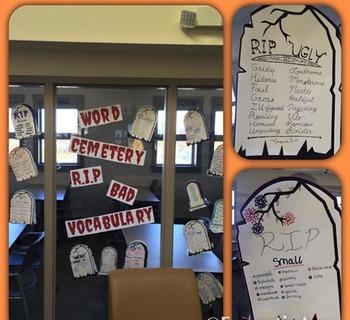 Dead Word Display Materials