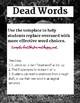 Dead Words