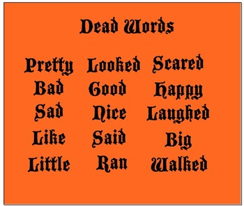Synonyms; Eliminate Boring Words from Your Writing!