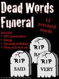 Dead Words Funeral Activity