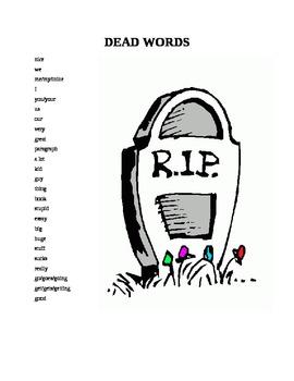Dead Words List