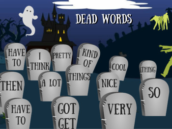 Dead Words Poster