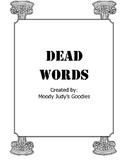 Dead Words Sort
