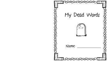 Dead Words - Using alternatives during English Creative Writing