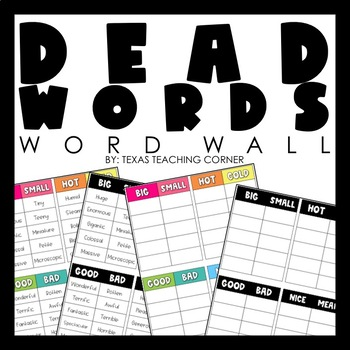 Dead Words Word Wall