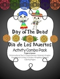 Dead of the Dead Combo Activity Pack { English & Spanish }