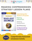 Deadliest Animals Comprehension Strategy Lesson Plans