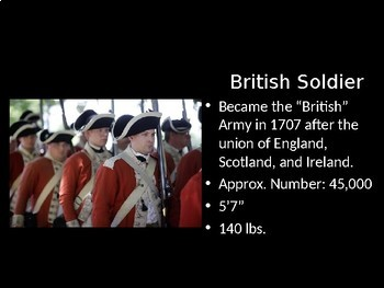 Deadliest Warrior: Revolutionary War! PowerPoint for Middle & High School
