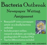 Deadly Bacteria Outbreak Creative Writing Assignment