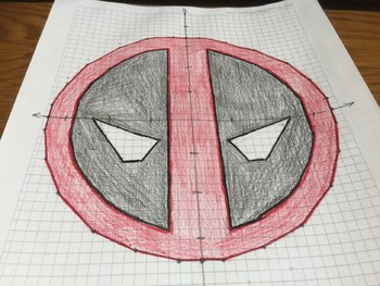 Deadpool Coodinate Drawing