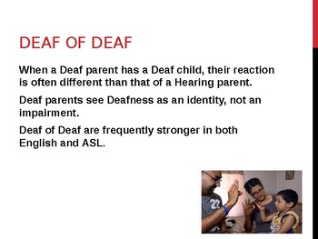 Deaf Culture: Lesson 6: Having a Deaf Child