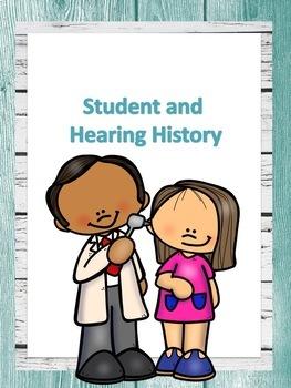 Deaf Education Caseload Binder-Editable in Shiplap