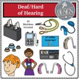 Deaf/Hard of Hearing (JB Design Clip Art for Personal or C