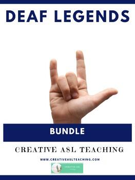 Deaf Legends Bundle - ASL/Deaf/HH