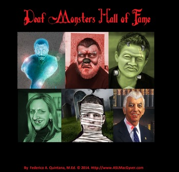 Deaf Monsters Hall of Fame