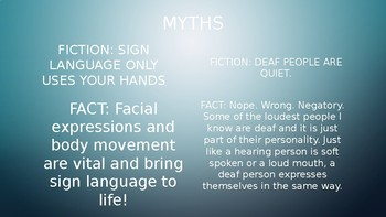Deaf Myths