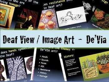 Deaf View/Image Art - De'Via