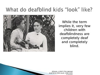 Deaf/Blind Students PowerPoint