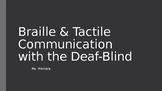DeafBlind Unit