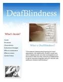 Deaf/Blindness Brochure for Parents and Teachers