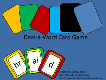 Deal-A-Word Card Game!