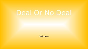 deal or no deal template by math with mrs flemington tpt
