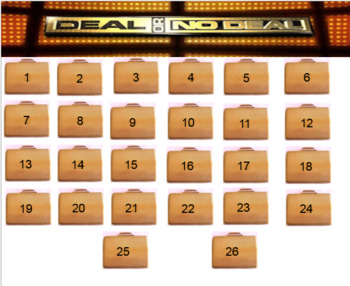 Deal or No Deal - Chance and Probability