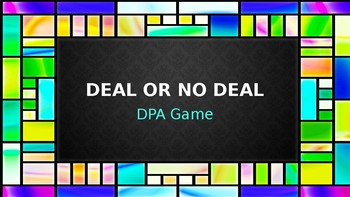 Deal or No Deal DPA Game