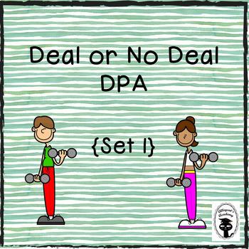 Deal or No Deal DPA - Set 1