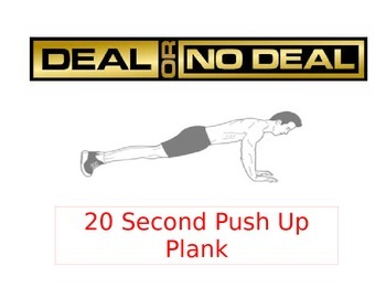 Deal or No Deal Fitness Warm-Up